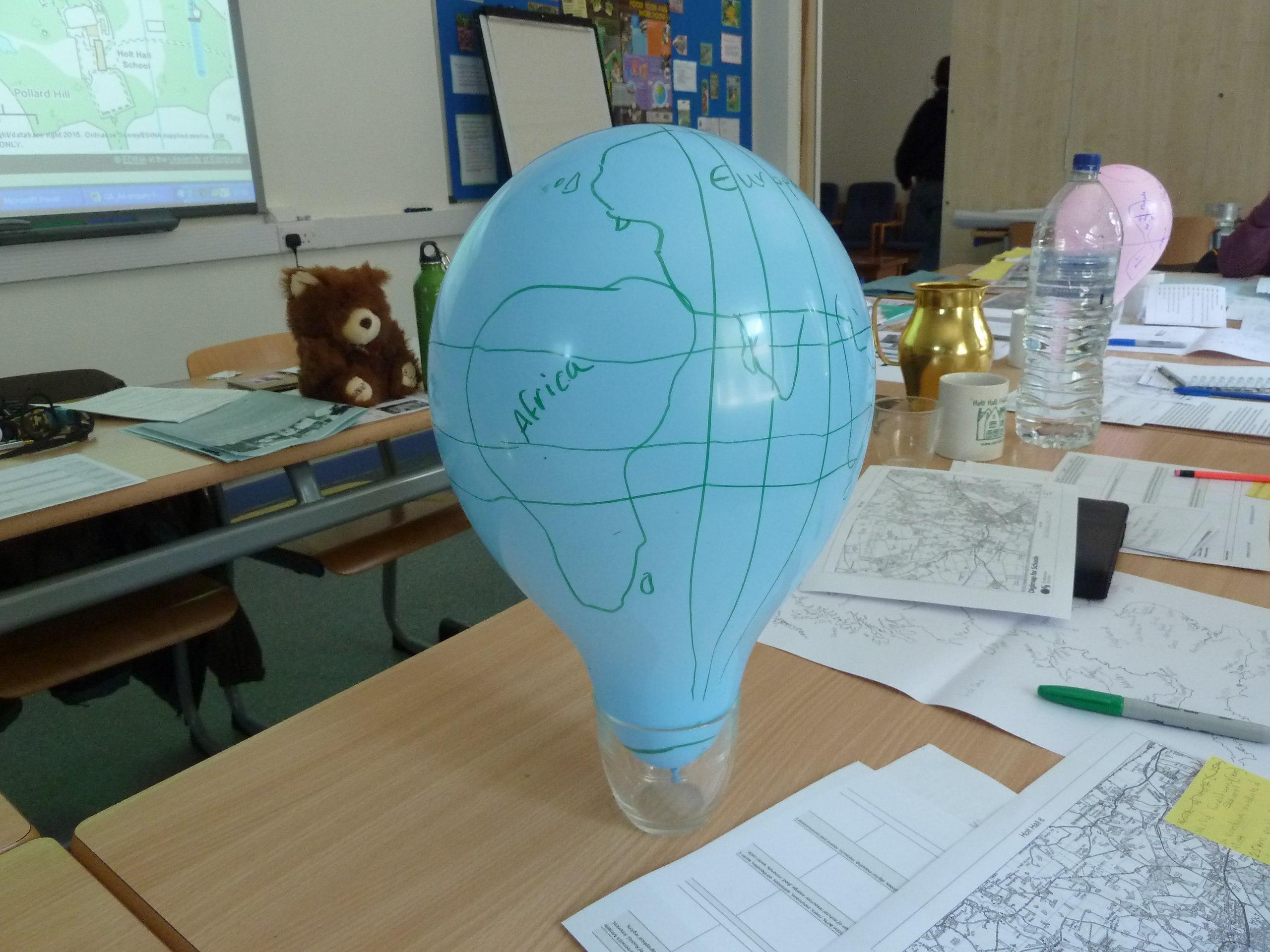 creating globes